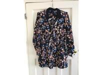 Size 14 floral playsuit