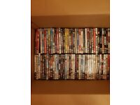 125 DVD's inc PS3 game and box sets - Ideal for Boot Sales *BARGAIN*
