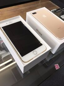 New Iphone 7 Plus Gold 128GB - Factory Unlocked