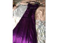XOXO dress size small in deep purple