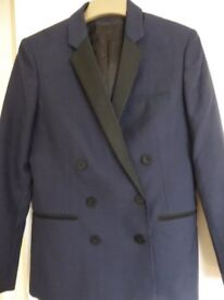 Whistles Ladies Jacket, immaculate, navy with black, generous size 8