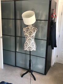 Mannequin light stand