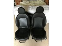 Heated Mini Punch Leather Seats - R56 Mini One, Cooper, Cooper S, JCW