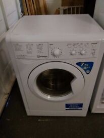 Indesit washer. 7Kg A++ white
