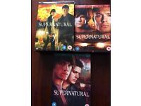DVD - Supernatural- Season 1 - 3