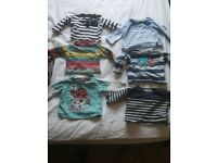 Huge bundle of baby boy clothes 3 to 6 months