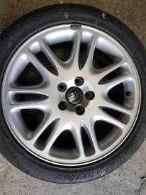 Volvo v70 , S60 etc 17 inch alloy wheels