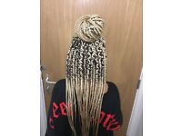 Afro hairdresser Braids| twists| weave| closure| frontal| faux locs| crochet| straighten| Treatments