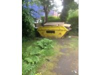Free skip must be collected