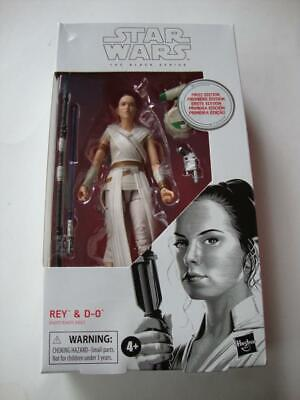 Star Wars Black Series 2019 First 1st Edition #91 Rey & D-O Droid White Box NEW