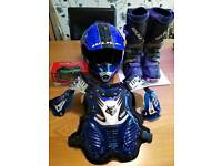 Kids motocross gear