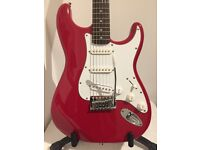 Red Cruiser by Crafter 6 String Electric Guitar