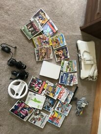 Wii Bundle complete with 21 games