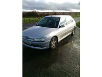 PEUGEOT 306 Hdi 2.0 cheap wee runabout. Yr 2000 MOT to 16/7/17