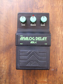 Vintage Aria ADL-1 Analog Delay MIJ 80s Panasonic MN3205 BBD chip same as Boss DM2 Maxon Ibanez AD9