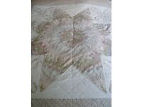 Vintage style double patchwork quilt