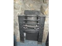 Victorian fireplace with integral grate