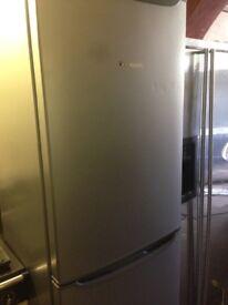 Silver Fridge freezer.,Cheap Free delivery