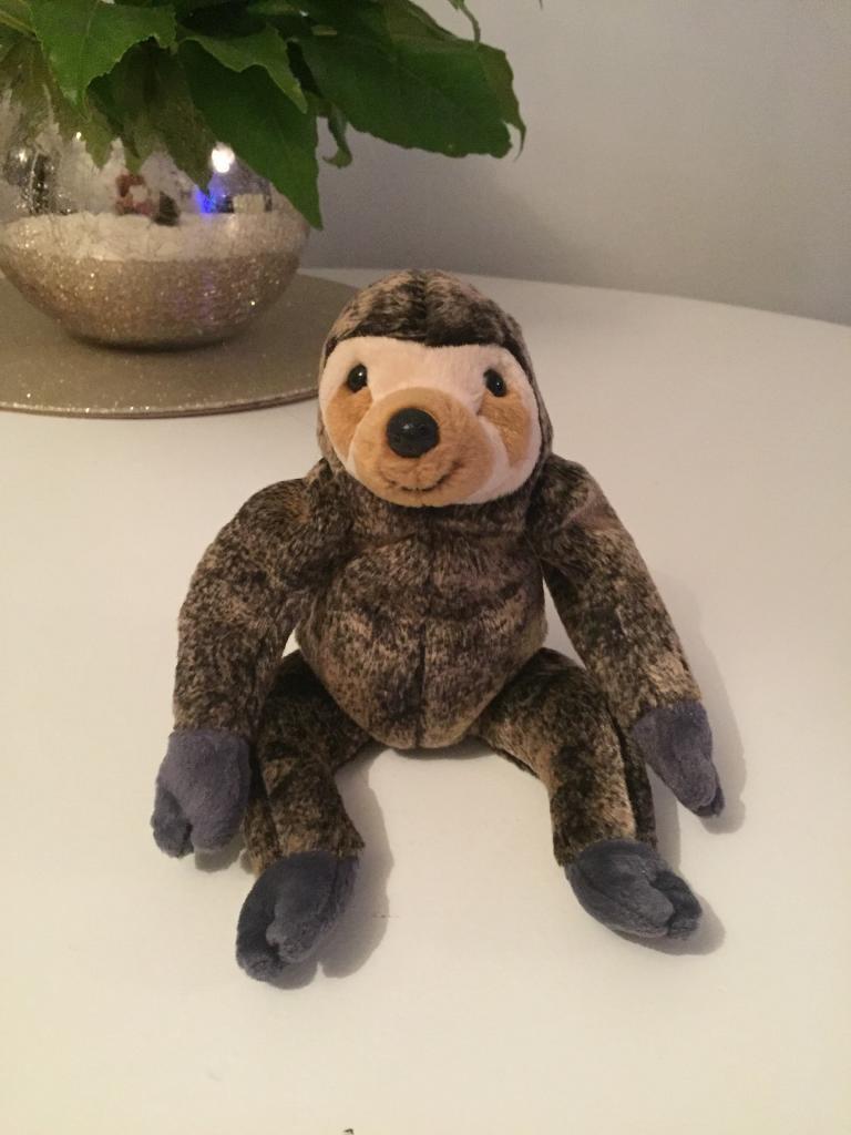 "4678bdc4d4e Ty beanie baby ""Slowpoke"" sloth"
