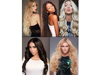 WEAVE FITTING & HUMAN HAIR EXTENSIONS IN CARDIFF