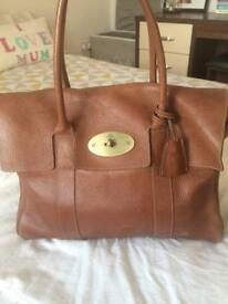 Mulberry Bayswater brown leather handbag
