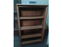 Solid Wooden Bookcase - Excellent Condition