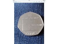 Various collectable 50p coins