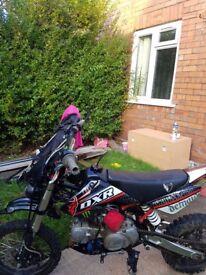 2015 Stomp Demon X road leagal pit bike