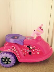 Minnie Mouse Electric 6v child's scooter