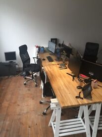 Spacious shared workspace/ office space to rent in Old Street