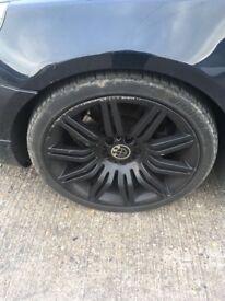 "BMW 19"" alloys (genuine)"
