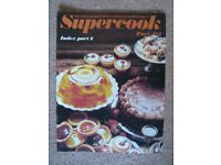 Supercook Complete set of Encyclopedia of Cooking books including index 112 books