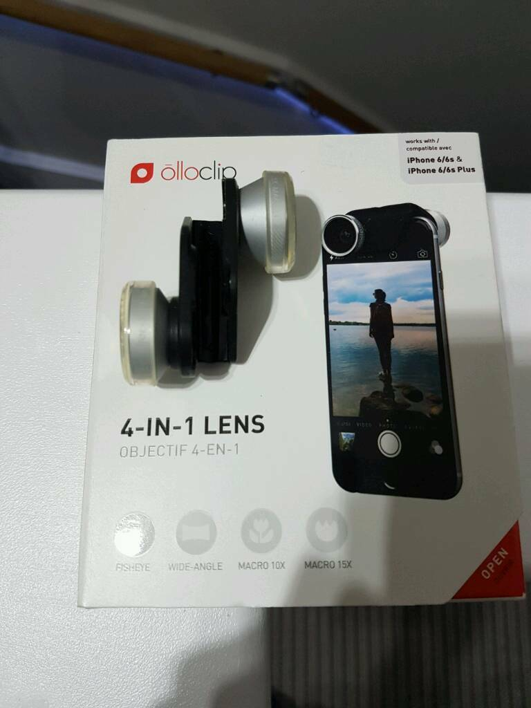 Apple olloclip 4 in 1 lens