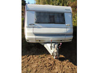 Wilk Royal 5 Berth Dry Touring Caravan With Fixed Bed And Dinette