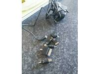 Wall charger and adaptors *see below*