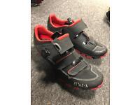 Fizik M6 MTB bike shoes size 10.5