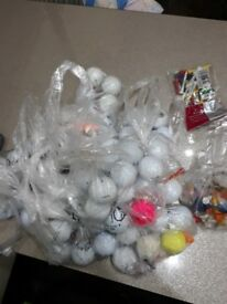 Golf balls in good used condition.