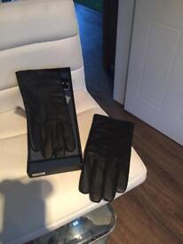 Brand New Mens XL leather gloves