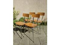 Vintage Retro Dining Chairs Vintage Retro Stacking Chairs Vintage Retro Seating