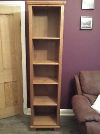 Ikea solid pine book shelf £25 no offers.