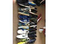 Job lot of Nike , Adidas , firetrap and vans trainers