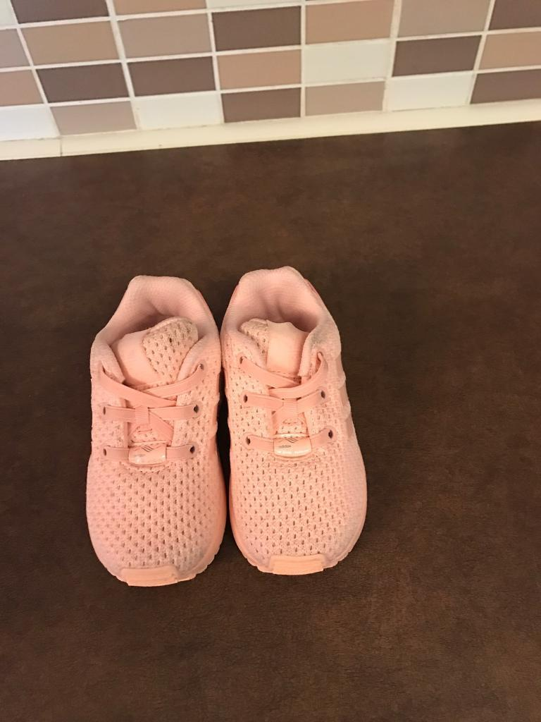 Baby Girl Size 5 Adidas Trainers