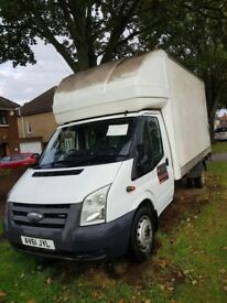 Luton van Ford transit for sale £7600 in Bedford