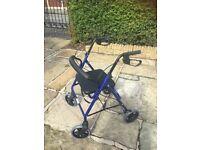 Rollator 4 wheel walking frame