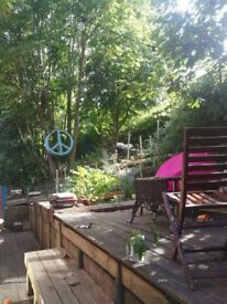 Sunny, spacious double in converted warehouse: 3 week sublet