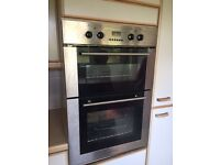 Kenwood integrated double oven, good working condition