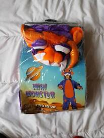 Brand New Boys monster outfit age 5-6