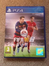 Fifa 16 game for PS4 - excellent condition - used
