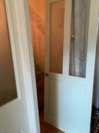 3 wooden internal doors