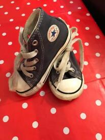 High top infant converse